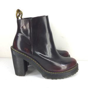Dr. Martens Shoes - Dr Martens 10 Magdalena Platform Boot Aunt Sally